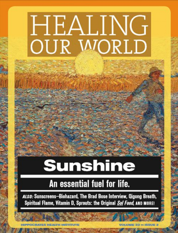 Sunshine - An essential fuel for life