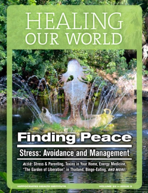 Finding Peace - Stress Avoidance and Management
